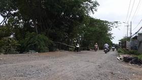 Khu vực nơi xảy ra vụ việc