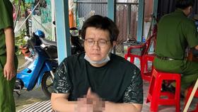 Nhâm Hoàng Khang lúc bị bắt