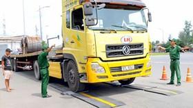 Nhiều trạm kiểm tra tải trọng xe lưu động chưa đưa vào hoạt động