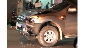Chiếc xe gây tai nạn làm chết 4 người tại Phổ Yên