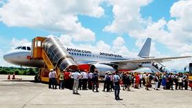Máy bay của Jestar Pacific phải hạ cánh khẩn cấp do cảnh báo lỗi càng máy bay
