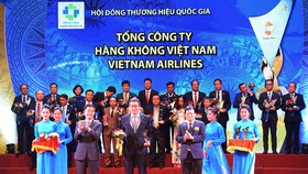 Vietnam Airlines được vinh danh Thương hiệu Quốc gia 2018