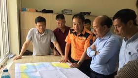 Lãnh đạo Bộ GTVT chỉ huy tìm kiếm thuyền viên mất tích