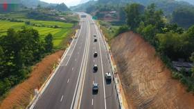 Cao tốc Bắc Giang - Lạng Sơn. Ảnh: VOV