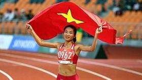 Vận động viên điền kinh Nguyễn Thị Oanh