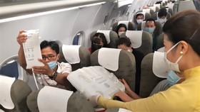 Bảo quản trái tim hiến tạng trên máy bay