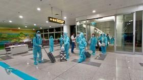 Chuyến bay thẳng đầu tiên đến Texas đón 350 công dân Việt Nam về nước