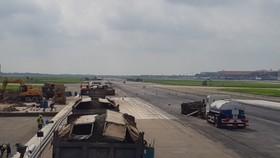 Đẩy nhanh tiến độ cải tạo sân bay Nội Bài