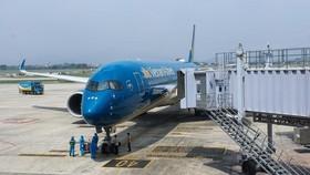 Chuyến bay VN417 vừa hạ cánh