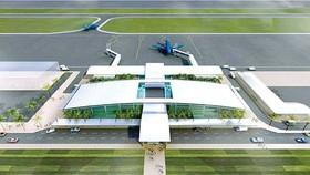 Phối cảnh sân bay Quảng Trị
