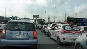 Cao tốc Pháp Vân - Cầu Giẽ thường xuyên xảy ra ùn tắc