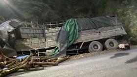 Xe gây tai nạn làm chết 7 người tại Thanh Hóa chở quá số người quy định