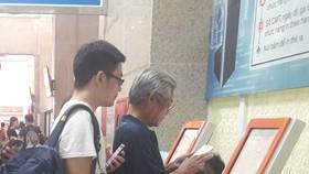 Mua vé tàu tại ga Hà Nội