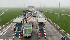 Trạm thu phí tuyến tránh thị trấn Đông Hưng