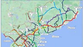 Luồng xanh quốc gia khu vực phía Nam