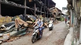 Kiểm điểm lãnh đạo phường ra văn bản cảnh báo ô nhiễm khu vực cháy Công ty Rạng Đông
