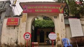 Cán bộ công an phường Đông Ngạc tiếp xúc với bệnh nhân 243 có kết quả âm tính