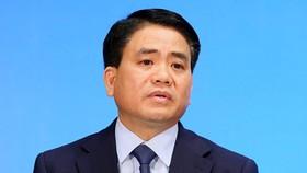 Chủ tịch UBND TP Hà Nội Nguyễn Đức Chung vừa bị đình chỉ công tác