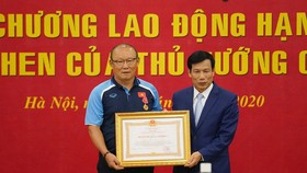 HLV Park Hang seo đang lên nhiều ý tưởng cho bóng đá Việt Nam