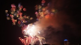 Màn pháo hoa tầm cao chào năm mới duy nhất ở Hà Nội