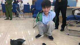 Tài xế taxi cướp ngân hàng ở Hà Nội