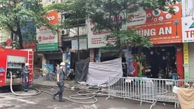 Cháy cửa hàng đồ dùng mẹ và bé, 4 người thiệt mạng
