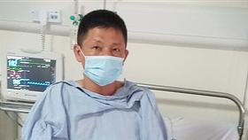 Anh Nguyễn Trần Minh tại bệnh viện