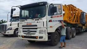 Phát hiện nhiều xe chở quá tải, mất an toàn giao thông