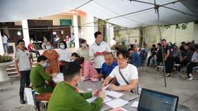 Đợt cao điểm thu nhận hồ sơ, cấp căn cước công dân điện tử tại TP Hà Nội