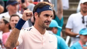 Niềm vui chiến thắng của Roger Federer