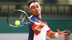 Fognini thường xuyên gây sự với trọng tài. Ảnh: ATP