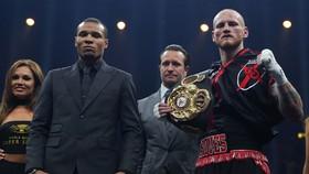 George Groves (phải) đã lọt vào bán kết World Boxing Super Series