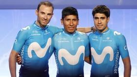 Valverde, Quintana, Landa - mũi đinh ba của Movistar