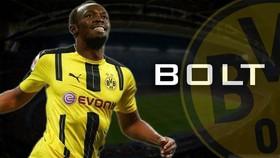 Usain Bolt tiết lộ anh đã ký hợp đồng với một đội bóng, nhưng khả năng không phải Borussia Dortmund.