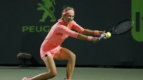 Victoria Azarenka trong trận thắng Karolina Pliskova của CH Séc