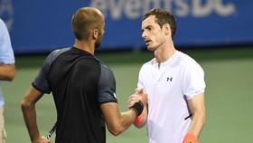 """Murray đã lọt vào vòng đấu """"bát cường"""" ở giải đấu tại Washington"""