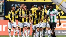 Niềm vui chiến thắng của các cầu thủ Vitesse