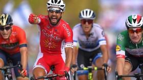 Nacer Bouhanni, một người Pháp khác đã ghi dấu ấn ở Vuelta 2018