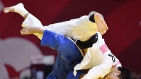 Shohei Ono và đòn quật ngã đối thủ người Hàn Quốc