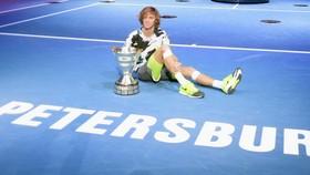 Rublev và cúp vô địch St Petersburg Open