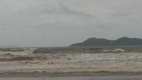 Khu vực tàu VTP 26 bị chìm