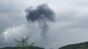 Rơi máy bay quân sự tại Nghệ An, 2 phi công hy sinh