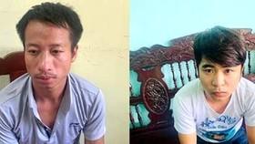 2 đối tượng Tùng và Hưng. Ảnh: Th.Th.