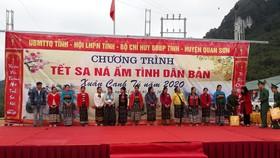 Thanh Hóa: Tết sớm cho dân bản lũ quét Sa Ná