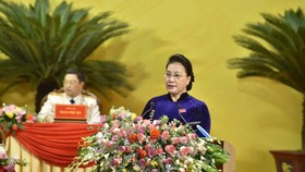 Chủ tịch Quốc hội Nguyễn Thị Kim Ngân: Xây dựng Thanh Hóa phát triển toàn diện, ngày càng giàu đẹp, văn minh