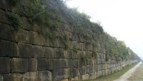 Hơn 14,7 tỷ đồng tu sửa cấp thiết tường thành đá Thành Nhà Hồ bị đổ do mưa bão