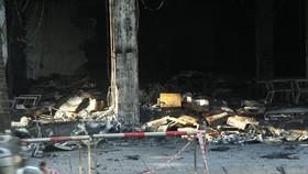 Cháy phòng trà ở Nghệ An, 6 người thiệt mạng