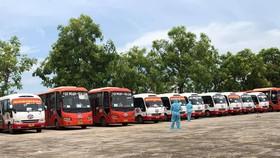 Thanh Hóa đón hơn 2.000 công dân về từ tỉnh Bắc Giang