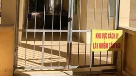 Khu vực cách ly tại Bệnh viện Phổi Thanh Hóa. Ảnh: CDC Thanh Hóa