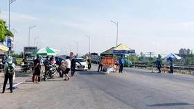 Người dân TP Vinh tiếp nhận nhu yếu phẩm từ các địa phương bên ngoài trước khi cách ly, giãn cách toàn tỉnh Nghệ An